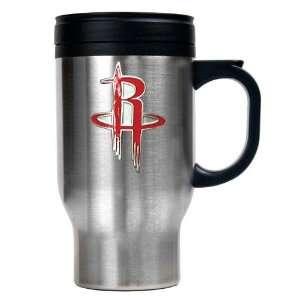 Houston Rockets NBA Stainless Steel Travel Mug   Primary Logo