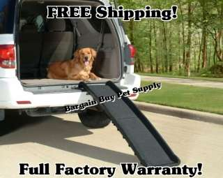 SOLVIT Ultralite Bi Fold PET Dog Cat Car SUV RAMP 891293000491
