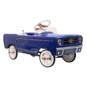 1965 Mustang Pedal Car   Blue