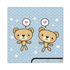 Lovely Bears Decorative Protector Skin Decal Sticker for PlayStation 3