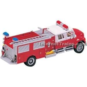 Boley HO Scale International 4900 2 Axle Crew Cab Fire