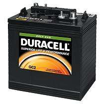 Duracell? golf car battery - group size gc2 review