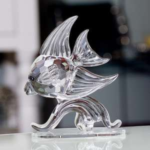 Godinger crystal Angel Fish figurine ornament sculpture