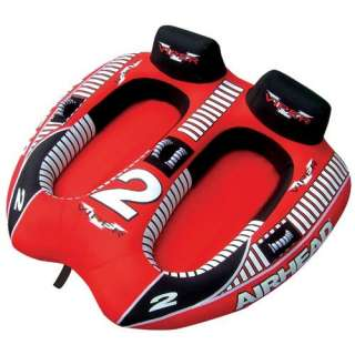 Kwik Tek Airhead Viper II Towable Water Tube 2 Person