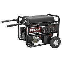 Black Max 6800 Watt Portable Gas Powered Generator with Electric Start