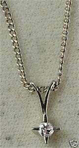 1950S VINTAGE 14K WHITE GOLD DIAMOND NECKLACE
