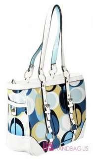 New Designer Inspired LOVE Handbag Purse Tote Bag Blue