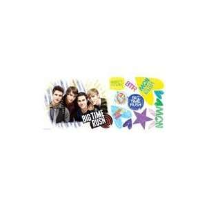 Big Time Rush Peel & Stick Giant Wall Decal Home