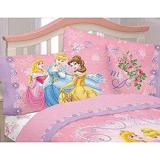 Loving Hearts Princess Sheet Set  Disney Bed & Bath Bedding Essentials
