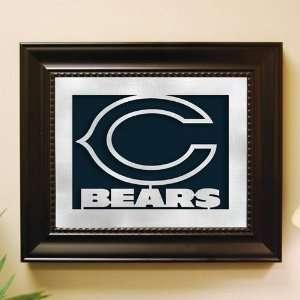 Chicago Bears Framed Laser Cut Logo Wall Art Sports