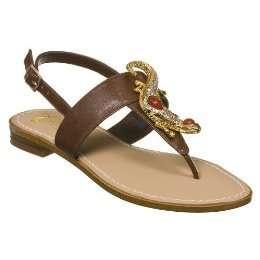 Miss Trish Target Lizard Flat Sandals Multi Sizes NWT