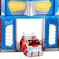 Playskool Heroes Transformers Rescue Bots Electronic Fire Station