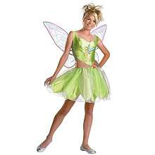 Disney Fairies Tinker Bell Halloween Costume   Tween/Teen Size 7 9