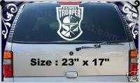 CLONE TROOPER STAR WARS Vinyl Decal Window Sticker 23