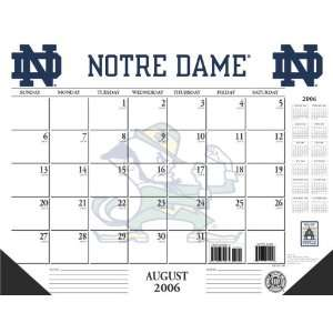 University of Notre Dame Fighting Irish NCAA 2006 2007 Academic/School