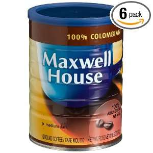 Maxwell House 100% Columbain (Medium Dark) Ground Coffee, 11 Ounce
