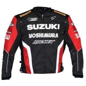 Joe Rocket Suzuki Supersport Replica Jacket   Large/Black
