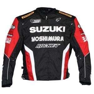 Joe Rocket Suzuki Supersport Replica Jacket   Large/Black