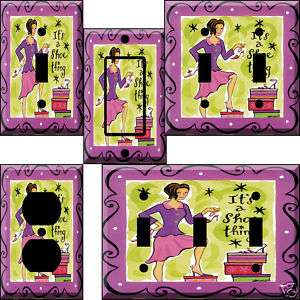 Its a Shoe Thing Light Switch Plate Cover switchplate