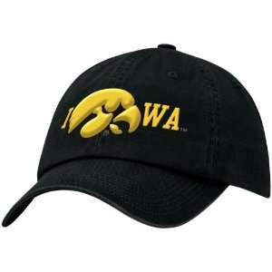 Nike Iowa Hawkeyes Black Local Campus Hat  Sports