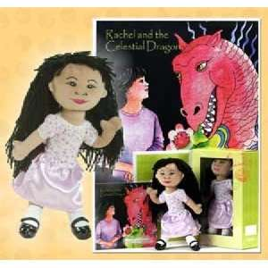 JamboKids RCDKT 01 Rachel Doll & Book Set Toys & Games