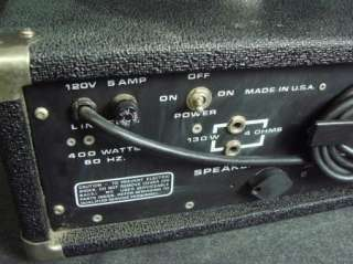 Peavey Monitor Series 260 Amp Head Monitor Amplifier PA