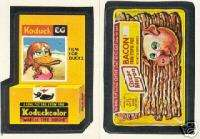 WACKY PACKAGES 1986 TOPPS COMPLETE ALBUM STICKER SET