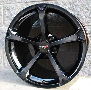 2011 Corvette Grand Sport Black Chrome PVD wheels
