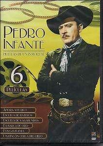 Pedro Infante Huellas De Un Inmortal DVD NEW 6 Pk Ahora Soy Rico Y Mas