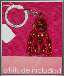 NW*KIPLING*BRONZE*HIP ROBOTIC MONKEY KEYRING*KEY CHAIN