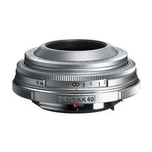 Pentax DA 40mm f/2.8 Limited Edition Silver: Camera & Photo