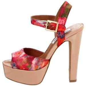 Womens Shoes Steve Madden DYNEMITE F Platform Sandal Heels Pumps