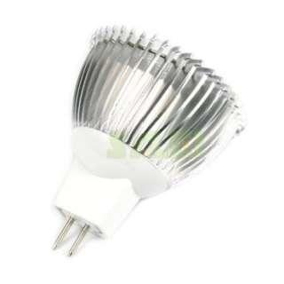 6W Mr16/12V Gu10/220V Plug 3x2W Led Light Warm Cool White Light Bulb
