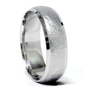 7MM Solid 950 Palladium High Quality Mens Wedding Ring Matte Band SZ 7
