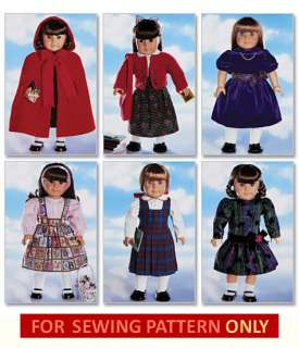 American Girl Clothes Patterns - Pinterest