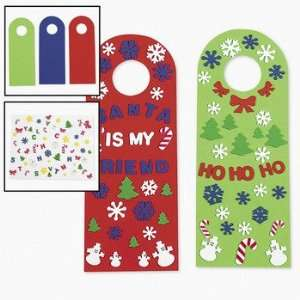 Happy Holidays! Doorknob Hangers   Craft Kits & Projects