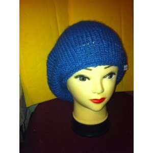 Knitted R red Navy cap Hat