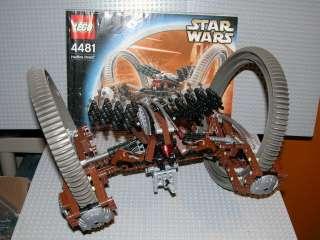 LEGO Star Wars 4481 Hailfire Droid 100% Complete Rare