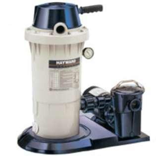 Hayward Ec30 DE Pool Filter System with 40 GPM Power Flo Pump  HAYWARD