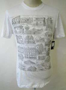 OBEY ANCIENT STREETS MENS T SHIRT ROME EGYPT ART NEW M