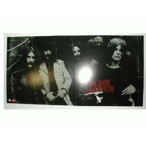 Black Sabbath Poster Ozzy Osbourne 2 sided Band Shot