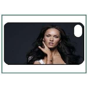 Megan Fox iPhone 4s iPhone4s Black Designer Hard Case Cover