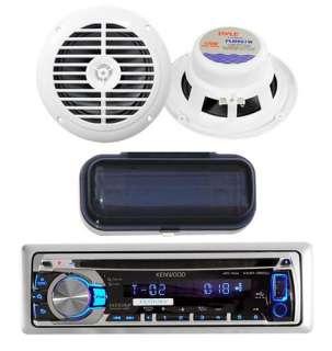 New KMR350U Marine CD Radio USB iPod iPhone Pandora Stereo 6.5