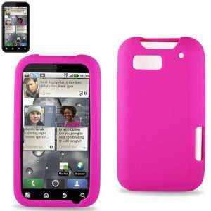 Silicon Case 01 for Motorola Defy MB525   Hot Pink