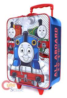 Thomas Tank Engine Rolling Luggage/SuiteCase/Travel Bag