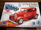 1932 ford sedan street rod 2 n 1 kit revell # 2062 1/25 scale