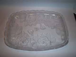 WINTER ROSE by STUDIO NOVA CRYSTAL 11.5 Tray |