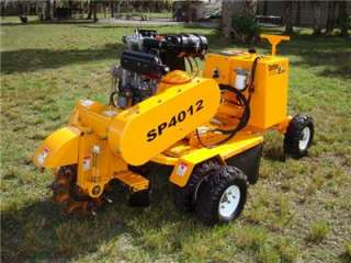 2005 CARLTON STUMP GRINDER SP4012 (Diesel) WITH REMOTE  only 69 hrs