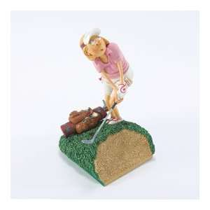 Lady Golfer Figurine