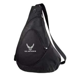 U.S. Air Force Logo Embroidered Sling Pack Everything
